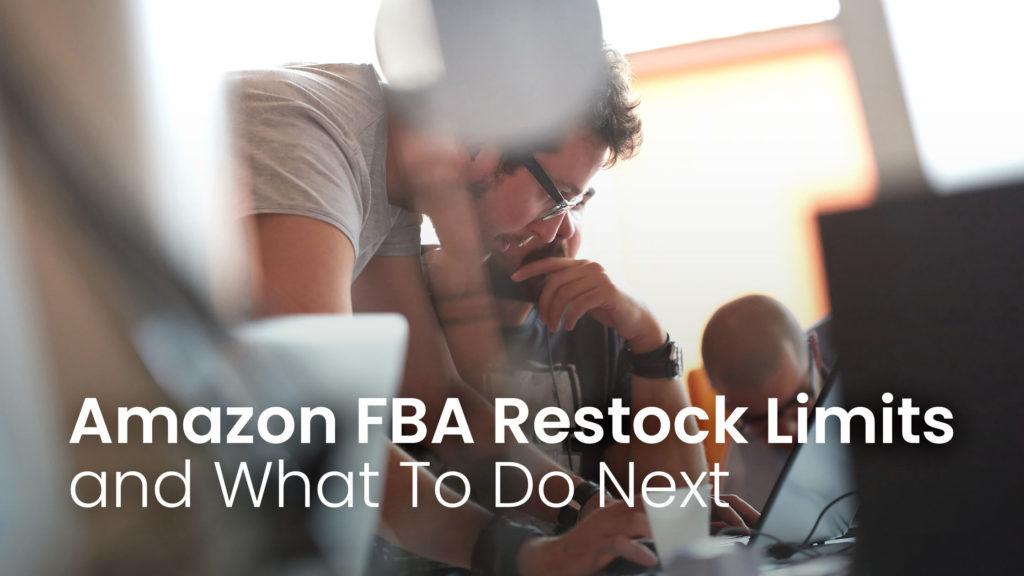 people analysing data regarding amazon restock limits